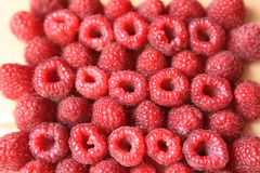 Sweet raspberries Stock Photo