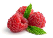 Sweet raspberries Royalty Free Stock Photo
