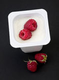 Sweet raspberry Royalty Free Stock Image