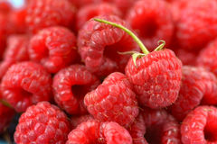 Sweet raspberry as a background. Sweet red raspberry as a background Stock Photos