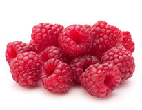 Sweet raspberry isolated on white background cutout Royalty Free Stock Photos