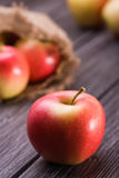 Sweet red apple Royalty Free Stock Image