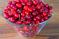Sweet red cherries Royalty Free Stock Images