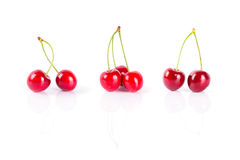 Sweet red cherries Royalty Free Stock Photo