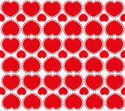 Sweet red hearts Royalty Free Stock Image
