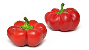 Sweet red peppers Royalty Free Stock Photography