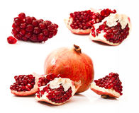 Sweet red pomegranate Stock Images