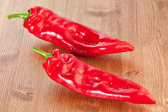 Sweet Red Ramiro pepper Stock Images