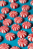 Sweet Red and White Peppermint Candy Royalty Free Stock Photo