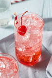 Sweet Refreshing Cherry Cocktail Mocktail Stock Photos