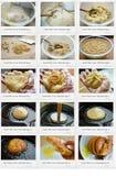 Sweet rice corn Xatteok. Photo of sweet rice corn xatteok recipe Stock Images