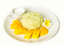 Sweet rice mango Royalty Free Stock Photography