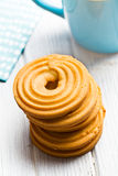 Sweet ring biscuit Royalty Free Stock Photo