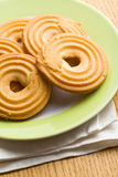 Sweet ring biscuit Stock Photography