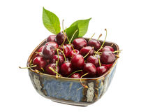 Sweet ripe cherry Stock Photo
