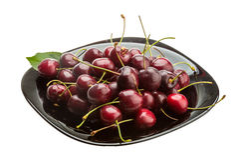 Sweet ripe cherry Stock Photos