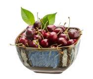 Sweet ripe cherry Stock Images