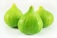 Sweet ripe figs. Isolated and close-up Royalty Free Stock Photography