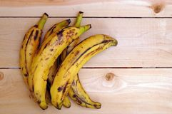 Sweet ripe grill plantain bananas Royalty Free Stock Photo