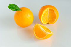 Sweet ripe oranges Stock Images