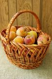 Sweet ripe peaches Royalty Free Stock Images