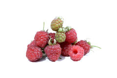 Sweet ripe raspberry Stock Images