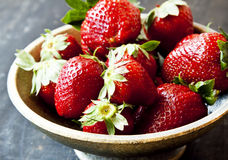 Sweet Ripe Strawberries Royalty Free Stock Photo