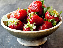 Sweet Ripe Strawberries Royalty Free Stock Image