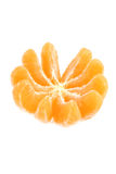 Sweet ripe tangerine Stock Photography