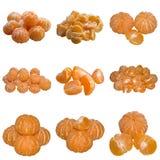 Sweet ripe Tangerine. Vitamin Tangerines Fresh Juice Juicy Ripe Colour It is white tasty the Segment royalty free stock photos