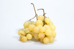 Sweet and ripe white grapes Royalty Free Stock Photo