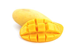 Sweet ripe yellow mango Royalty Free Stock Photography