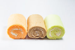 Sweet roll cake Stock Photography