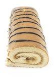 Sweet roll cake Stock Image