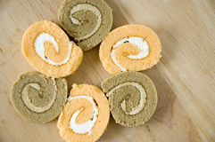 Sweet roll cakes Stock Photography
