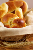 Sweet rolls and croissant Royalty Free Stock Photo