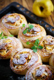 Sweet rolls with quince Stock Image