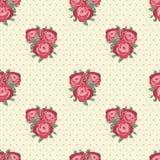 Sweet rose seamless pattern. Stock Photos