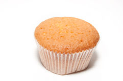 Sweet round muffin. In confectionery paper Stock Image