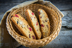 Sweet rusks Stock Images