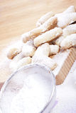 Sweet sand tarts Stock Photos