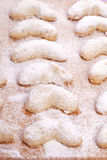 Sweet sand tarts christmas cookies Royalty Free Stock Image