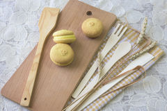 Sweet sandwich biscuits Royalty Free Stock Photography