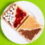 Sweet Sandwich Royalty Free Stock Images
