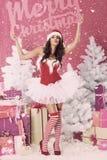 Sweet santa claus Stock Image