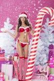 Sweet santa claus Royalty Free Stock Image