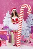 Sweet santa claus Royalty Free Stock Photo