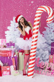 Sweet santa claus Royalty Free Stock Photography