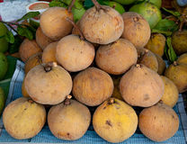 Sweet Santol fruit Stock Photography