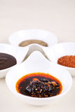 Sweet sauce flavoring Royalty Free Stock Images